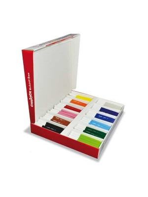 Caja School Pack 144 rotuladores Carioca Jumbo colores surtidos