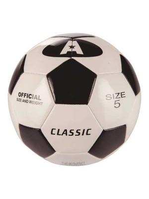 Balón de fútbol Classic cuero sintético cosido