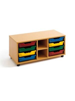Mueble cubetero Tagar 2 huecos 90x42x40cm