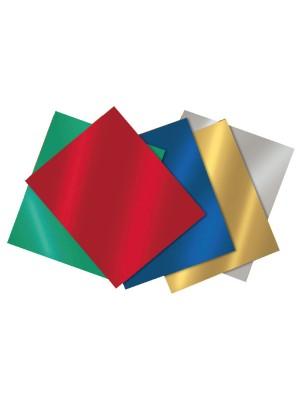 Cartulina metalizada Sadipal 50x65 cm. color verde