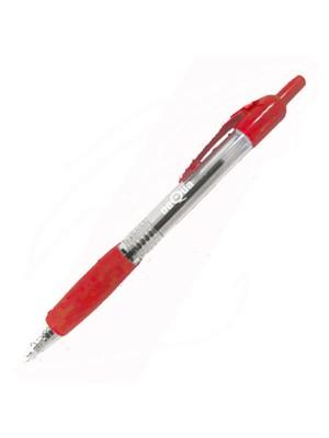 Bolígrafo retráctil Dequa Rojo