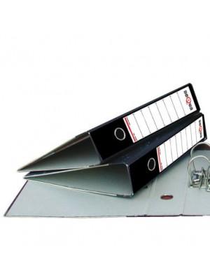 Archivador A-Z  jaspeado Dequa Lomo 75mm. Con rado A4 Negro