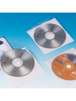 Pack 10 bolsillos autoadhesivos para CD Grafoplas