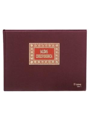 Libro salida correspondencia Dohe Folio apaisado
