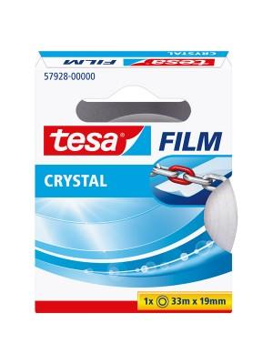 Cinta adhesiva cristal Tesafilm Crystal 19mm.x33m.