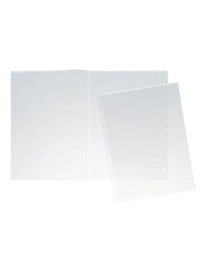Funda Grafoplas Doble PP 200µ Folio Pack 25u.