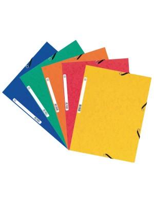 Pack 10 carpetas con gomas y 3 solapas Nature Future 355gr colores surtidos