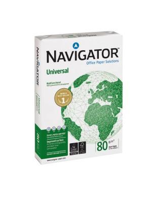 Paquete 500h. papel multiunción Navigator 80g. A4
