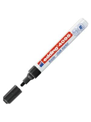 Marcador de tiza líquida edding 495. Trazo 2-3 mm. Negro
