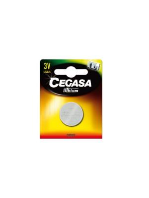Pila botón Cegasa lithium CR2025 3V BT