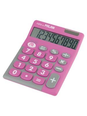 Calculadora de sobremesa Milan Duo 10 dígitos Rosa