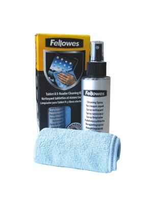 Kit limpiador Fellowes para tablet, PC y libros electrónicos con gamuza