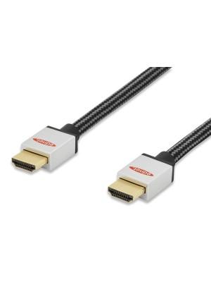 Cable HDMI alta velocidad M-M 1m