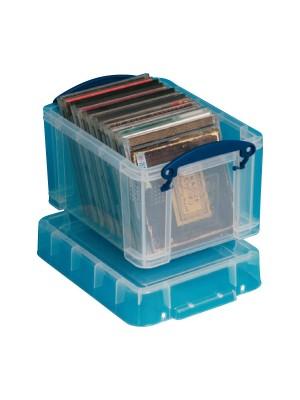 Caja multiusos Archivo 2000 para CD's  DVD's 245x180x160mm. 3l. Transparente