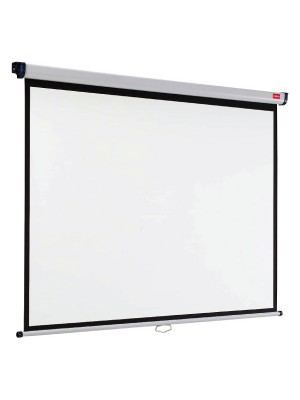 Pantalla mural Nobo Formato ancho de pantalla  4:3 240x180cm.