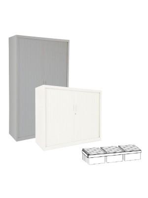 Guía telescópica para armario Gapsa puertas de persiana.  102cm.