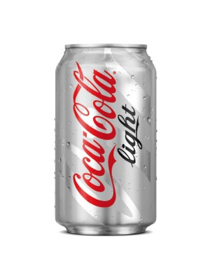 Lata Coca-Cola 330ml. Light