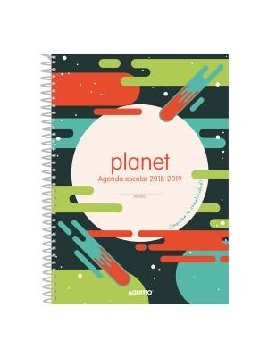 Agenda espiral primaria Additio Planet