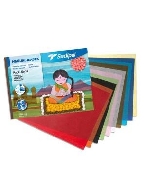 Cuaderno manualidades Sadipal papel seda