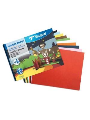 Cuaderno manualidades Sadipal cartulinas