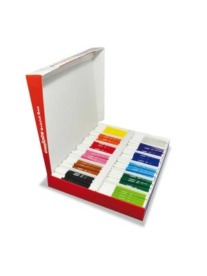 Caja  School Pack 288 rotuladores Carioca Joy colores surtidos