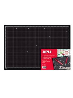 Tabla de corte 450x300x5mm. premium (A3) Negro