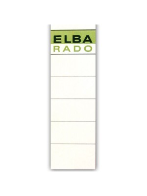 Etiquetas adhesivas Elba 190x54mm. Para archivadores 10 etiquetas
