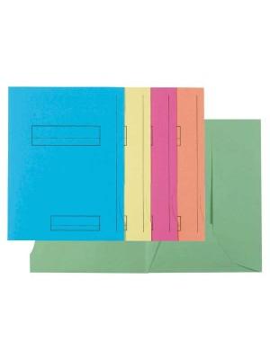 Subcarpetas Exacompta Cartulina 210g. 3 solapas A4+ Colores surtidos Pack 50u.