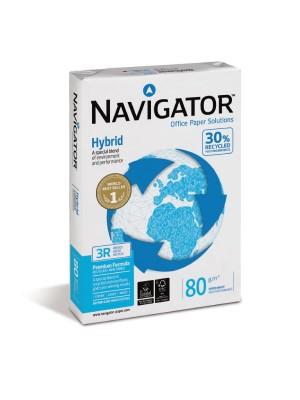 Paquete 500h. papel multifunción Navigator Hybrid 80g. A4