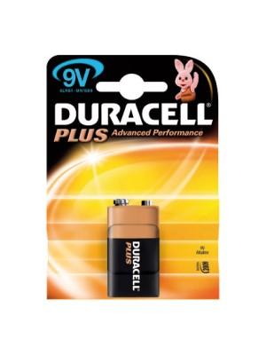 Pila alcalina Duracell Plus para uso intensivo 9V