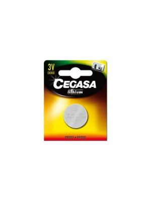 Pila botón Cegasa lithium CR2032 3V BT
