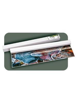 """Rollo papel plotter Fabrisa fotográfico brillo 140g. 36"""" 91,4cm.x30m"""