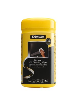 Dispensador Fellowes toallitas limpia pantalla
