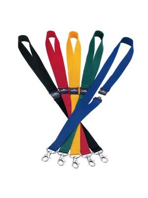 Cinta Durable para identificador portanombres. Longitud 44cm. Pack 10 cintas Negro