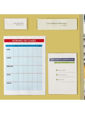 Identificadores de pared Archivo 2000 apertura lateral A5