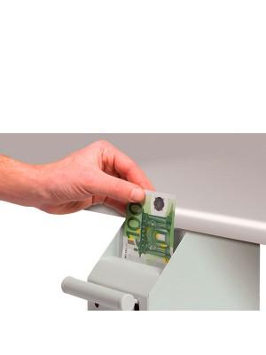 Caja fuerte Safescan 4100B POS para punto de venta. 102x225x190mm. Peso 2,2kg. Blanco