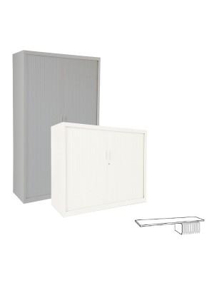 Estante para armario Gapsa puertas de persiana. Fijo 120cm.