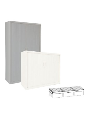 Guía telescópica para armario Gapsa puertas de persiana.  80cm.
