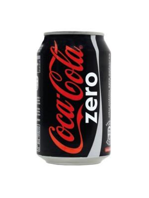 Lata Coca-Cola 330ml. Zero