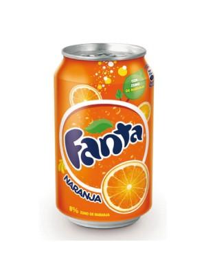 Lata Fanta 330ml. Naranja