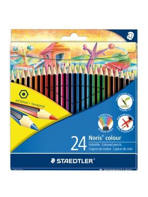 Caja  12 lápices de colores Staedtler Noris colour rojo