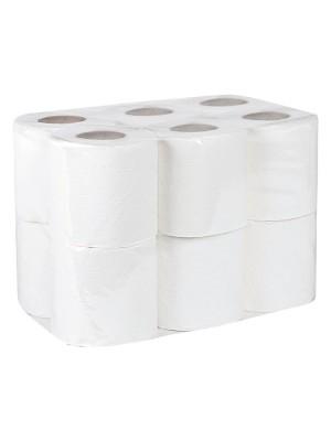 Rollo papel  higiénico doméstico 2 capas 18m. 165 servicios Pack 108 rollos