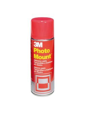 Adhesivo permanente en aerosol 3M Photo Mount