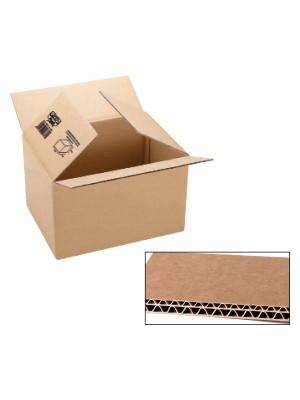 Pack 5 cajas de embalaje. Cartón canal doble 8mm. 600x500x500mm.