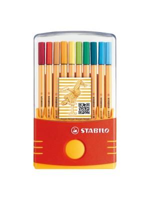 Rotulador Stabilo Point 88 estuche ColorParade 20 colores surtidos